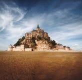 Het Saint Michel van Mont in Normandië, Frankrijk Royalty-vrije Stock Foto