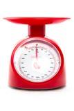 Het saldo van de gewichtsmeting Stock Afbeelding