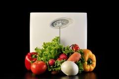 Het saldo van groenten Royalty-vrije Stock Afbeeldingen