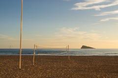 Het Salvo van het strand stock foto's