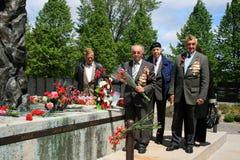 Het Samenkomen van de Veteranen van de Oorlog van de wereld royalty-vrije stock afbeeldingen