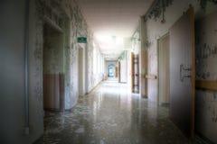 Het Sanatorium van Broby Royalty-vrije Stock Afbeelding