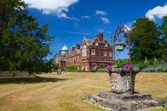 Het Sandringhamhuis is een buitenhuis op 20.000 acres van land noch Royalty-vrije Stock Afbeelding