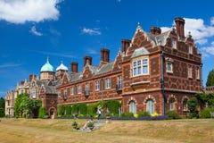 Het Sandringhamhuis is een buitenhuis op 20.000 acres van land noch Stock Foto