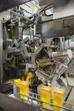 Het sap en de drank van de productie Stock Afbeeldingen