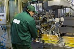 Het sap en de drank van de productie Stock Fotografie
