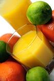 Het sap van de citrusvrucht Royalty-vrije Stock Afbeeldingen
