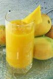 Het sap van de mango Royalty-vrije Stock Foto's