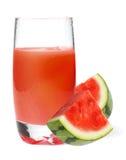 Het sap van de watermeloen royalty-vrije stock fotografie