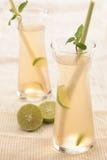 Het sap van het citroengras Royalty-vrije Stock Foto's