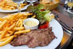 Het sappige vlees van het lapje vleesrundvlees royalty-vrije stock fotografie