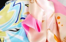 Het satijn van de kleur. Royalty-vrije Stock Foto