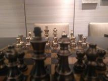 Het schaak is spel stock afbeeldingen