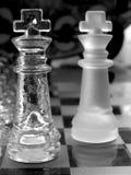 Het schaak van het glas Royalty-vrije Stock Fotografie