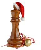 Het schaak van Kerstmis Stock Afbeeldingen