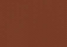 Het schaakorde van de patroon donkere bruine gevouwen vierkante oneindigheid Stock Afbeelding