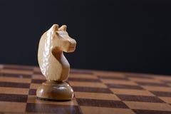 Het schaakstuk van de ridder Royalty-vrije Stock Foto