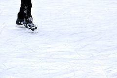 Het schaatsen stock foto