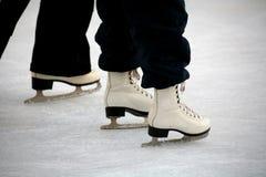 Het schaatsen van het ijs Royalty-vrije Stock Foto