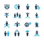 Het schaven Succes en Bedrijfsstrategieën //Azure Series royalty-vrije illustratie