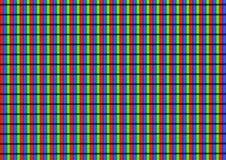 Het scherm LEIDENE TV Stock Foto