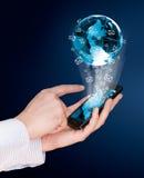 Het scherm mobiele telefoon van de aanraking Stock Foto