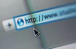 Het scherm van de computer royalty-vrije stock fotografie