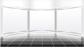 Het scherm van de expositie Stock Foto