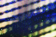 Het scherm van plasmatv Stock Foto's