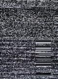 Het scherm van TV stock afbeelding