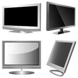 Het scherm van TV stock illustratie