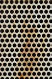Het schermachtergrond van het metaal Stock Afbeeldingen