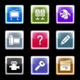 Het schermreeks 28 van de kleur Stock Foto