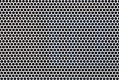 Het schermtextuur van het metaalnetwerk Stock Foto