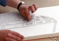 Het schetsen Stock Afbeeldingen