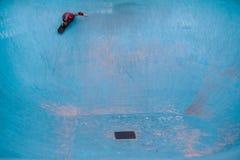 Het scheuren van een pool Stock Foto