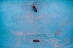 Het scheuren van een pool Royalty-vrije Stock Afbeelding