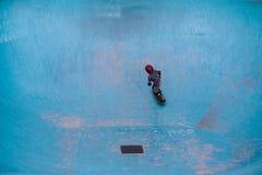 Het scheuren van een pool Royalty-vrije Stock Foto's