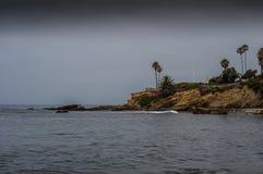 Het Schiereiland van het Laguna Beach Royalty-vrije Stock Foto's