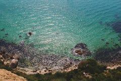 Het Schiereiland van kaapfiolent de Krim Stock Afbeelding