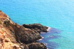 Het Schiereiland van kaapfiolent de Krim Royalty-vrije Stock Afbeelding
