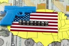 Het schieten in de school van de V.S. stock afbeeldingen
