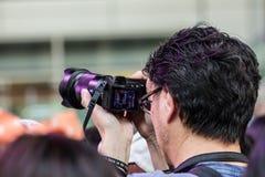 Het schieten van het conceptenmalplaatje van de fotogebeurtenis royalty-vrije stock fotografie