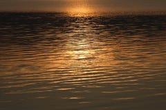 Het schijnsel van het water stock fotografie
