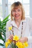Het Schikken van de bloem Stock Foto