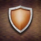 Het schild van de bescherming Stock Afbeelding