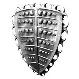 Het Schild van de Driehoek van het staal Royalty-vrije Stock Fotografie
