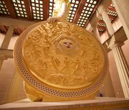 Het Schild van de Godin Athena in het Parthenon-Museum, Nashville TN royalty-vrije stock fotografie