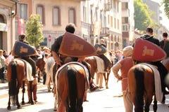 Het schild van de parade Royalty-vrije Stock Foto's
