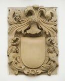 Het schild van de pleistermuur Royalty-vrije Stock Fotografie